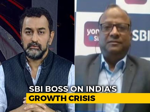 """Video : """"GDP Numbers Not Deeply Worrying"""": SBI Chairperson To NDTV"""