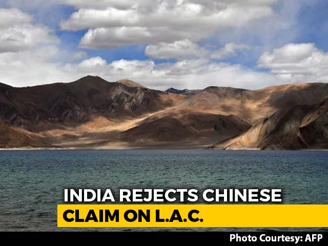 Video : India Rejects China's Interpretation Of Line Of Actual Control In Ladakh