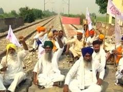 Punjab Farmers Begin 3-Day Protest Against Farm Bills, Block Rail Tracks