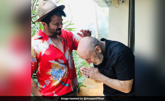 When Anupam Kher Asked Anil Kapoor For Exclusive 'Acting Tips'
