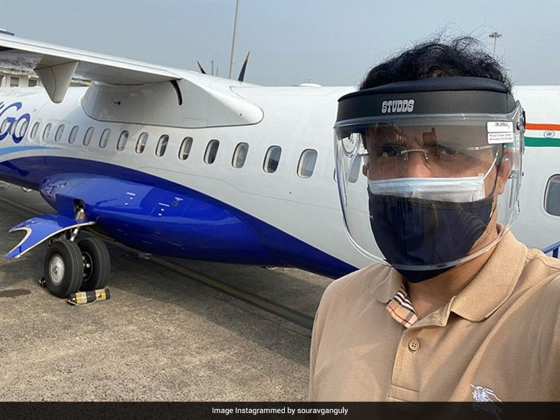 BCCI President Sourav Ganguly Leaves For Dubai To Oversee IPL 2020 Preparations