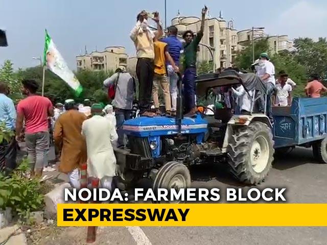 Video : Protests Against Farm Bills in Uttar Pradesh