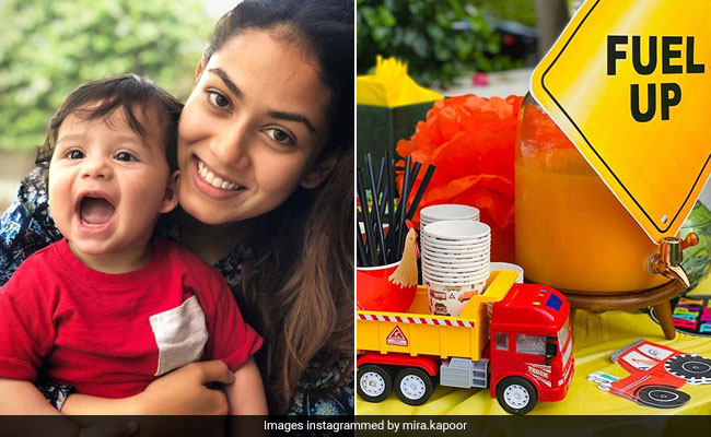 'Good Old Mom Guilt' Prompted Mira Rajput To Pull Off A Quarantine Birthday Party For Zain. Pics Inside