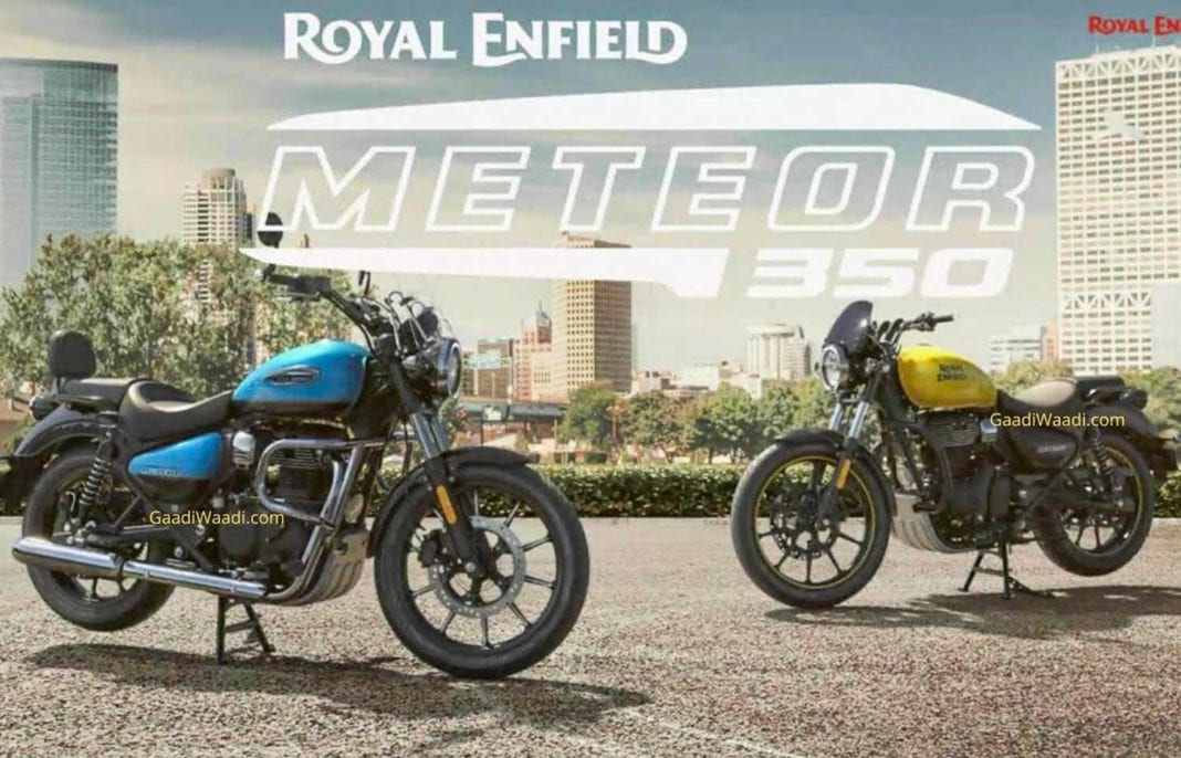 Royal Enfield Meteor 350 Full Specifications Leaked Prior To India Launch