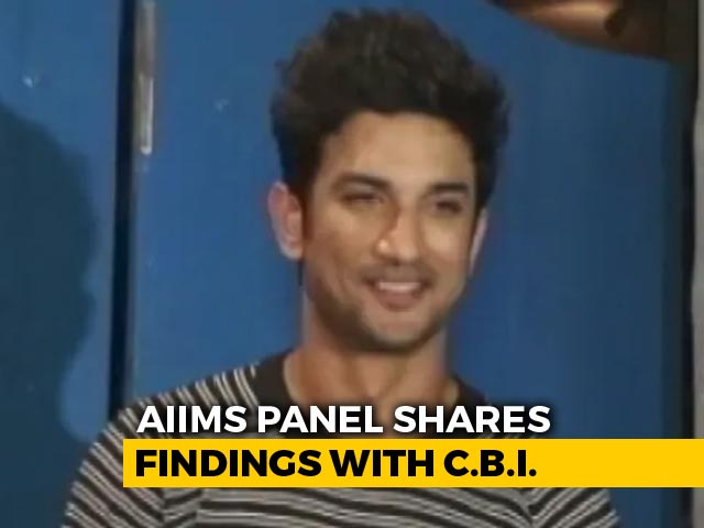 "Video : AIIMS Report On Sushant Rajput Not Final, ""Can't Say Suicide Or Murder"""