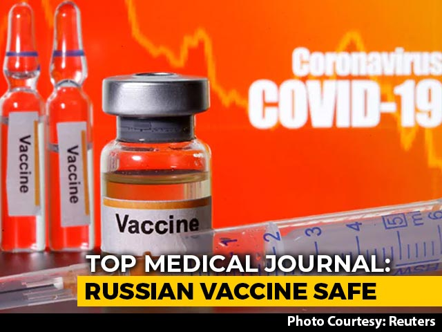 "Video : Russia's COVID-19 Vaccine ""Safe"", Passes Early Trial Test: Lancet Study"