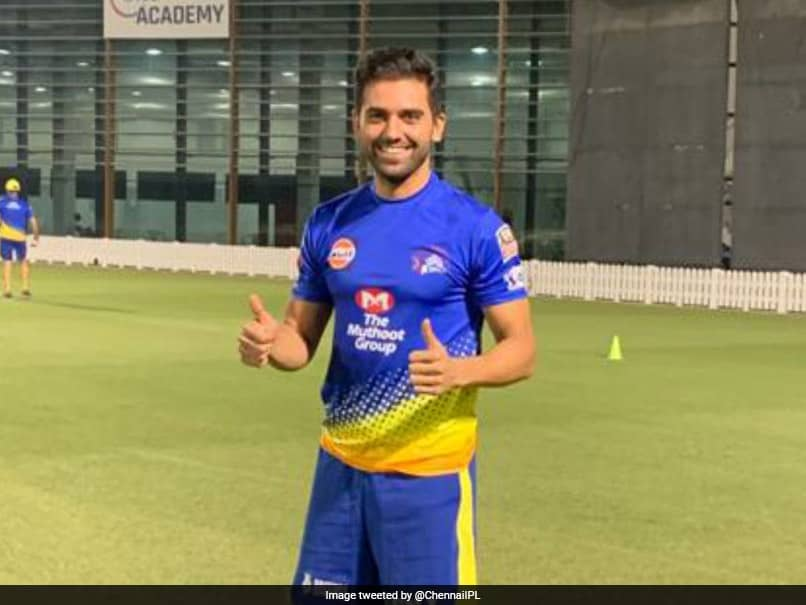 IPL 2020: Deepak Chahar Back In Training For CSK After Recovering From Coronavirus