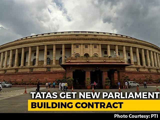 Video : Tatas Win Contract To Build New Parliament Building For Rs. 861.9 Crore