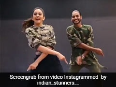 Rakul Preet Singh ने 'हौली हौली' सॉन्ग पर यूं झूमकर किया डांस, Video ने मचाई धूम