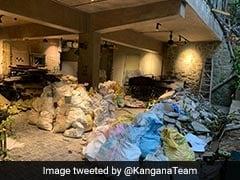 कंगना रनौत ने शेयर की टूटे हुए ऑफिस की Photos, बोलीं- मेरे कर्म स्थान को श्मशान बना दिया...