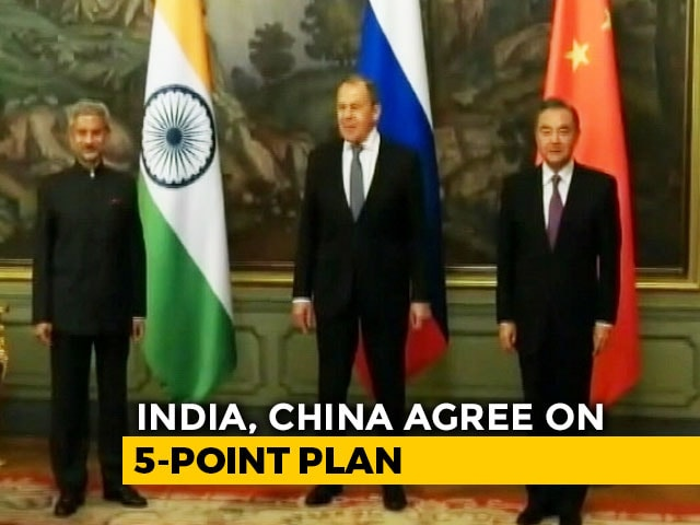 "Video : ""Massing Of Chinese Troops"" A Strong Concern, India Tells China: Sources"