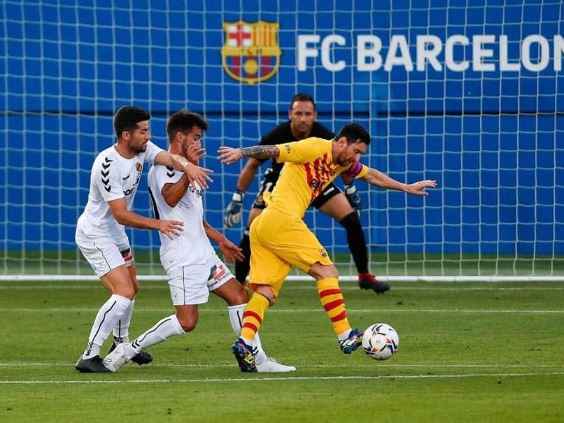 Lionel Messi Plays 45 Minutes In Barcelonas Friendly Win As La Liga Kicks Off