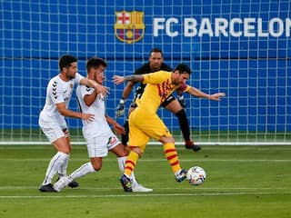 Lionel Messi Plays 45 Minutes In Barcelonas Friendly Win As La Liga Kicks Off