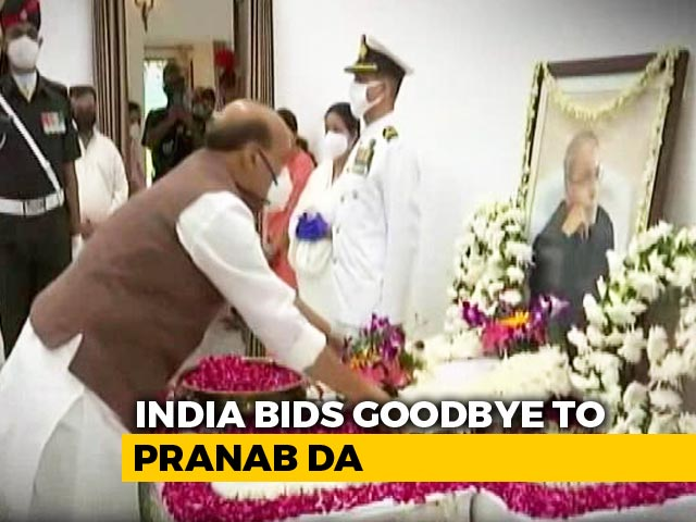 Video : India Bids Goodbye To Pranab Mukherjee