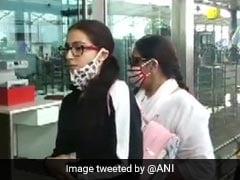 सारा अली खान NCB के समन जारी करने के बाद गोवा से मुंबई के लिए हुईं रवाना, Viral हुईं Photos