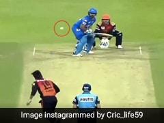 IPL 2020: 'लड्डू' गेंद पर आउट हुए ऋषभ पंत, छक्के के लिए घुमाया बल्ला और फिर.. देखें Video