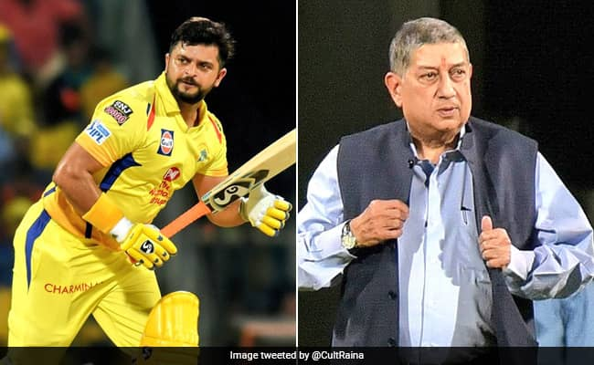 IPl 2020 do not have rights, cannot decide on Suresh Raina return in CSK says N Srinivasan
