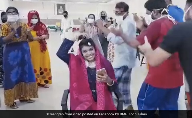 Kerala Bride Misses Nikah, So Patients At Covid Centre Celebrate With Her. Watch