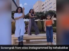 Neha Kakkar ने टेबल पर चढ़कर यूं किया Diamond Da Challa सॉन्ग पर डांस, Video ने मचाई धूम