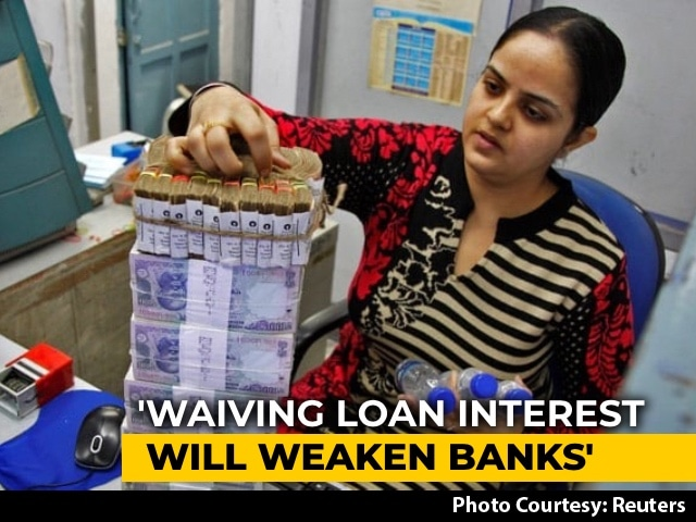 Video : Waiving Interest During Moratorium Unfair To Those Who Repaid Loans: Centre To Supreme Court