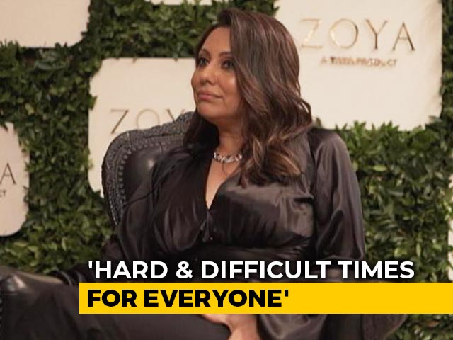 "Video : ""Difficult Times For All Of Us, We Are In It Together"": Gauri Khan On Coping With Pandemic"