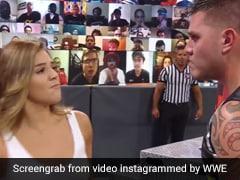 WWE के रे मिस्टीरियो की बेटी ने बीच रेस्लिंग में भाई के रसीद किया झापड़, और फिर...देखें Video