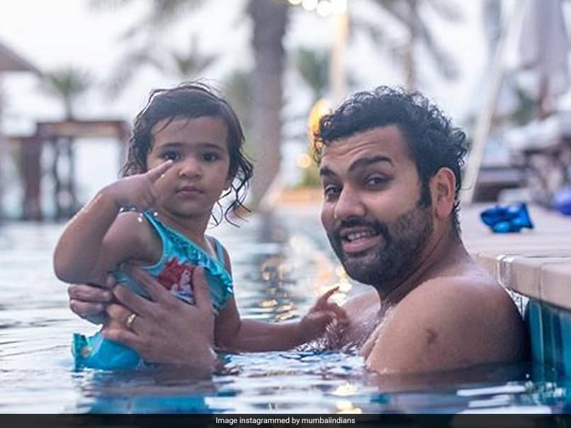 IPL 2020: Mumbai Indians Post Cute Pictures Of Rohit Sharma, Other Players With Their Daughters On World Daughters Day