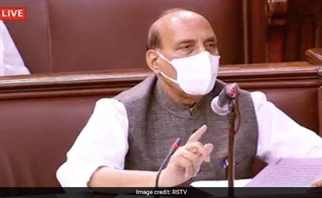 रक्षा मंत्री राजनाथ सिंह ने भारत-चीन तनाव पर कहा: देश का मुखिया इसे झुकने नहीं देगा, यह अपना सिर झुकाना भी नहीं चाहता।