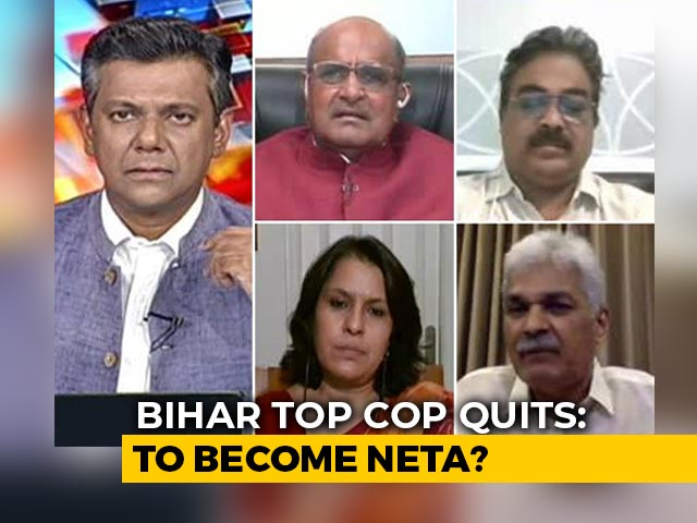Video: Top Cop Defended Chief Minister, Reminded Rhea Chakraborty Of 'Aukat', Now A Politician?
