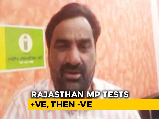 "Video : ""Which Report Accurate?"": COVID Positive MP Says Rajasthan Test Negative"