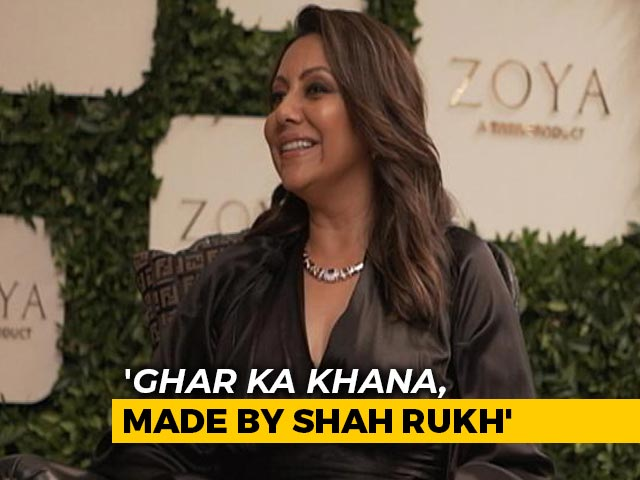 'Shah Rukh Loves Cooking, I Enjoy Eating': Gauri Khan To NDTV
