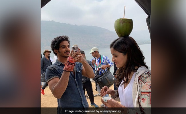 Khaali Peeli: Ananya Panday Sums Up Her 'Experience Of Working With Ishaan Khatter' In One Word. See Her ROFL Post