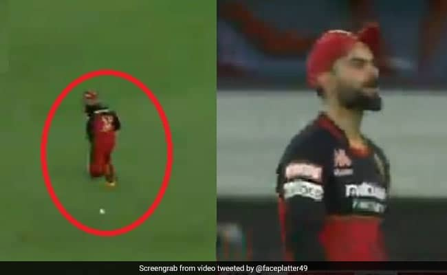 IPL 2020: Virat Kohlis Double Catch Drop Costed RCB, Fans troll RCB skipper after another flop show