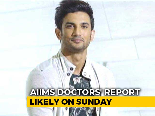 Video : On Sushant Singh Rajput's Death, AIIMS Doctors' Report Likely On Sunday