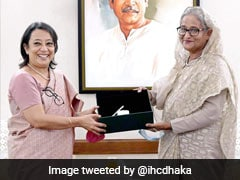 Outgoing Indian Envoy Makes Farewell Call On Bangladesh PM Sheikh Hasina