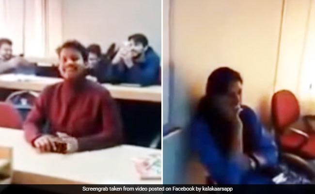 टीचर के सामने स्टूडेंट ने गाया, 'आज पढ़ाने की ज़िद न करो...', ज़ोर-ज़ोर से हंस पड़े बच्चे - देखें Viral Video