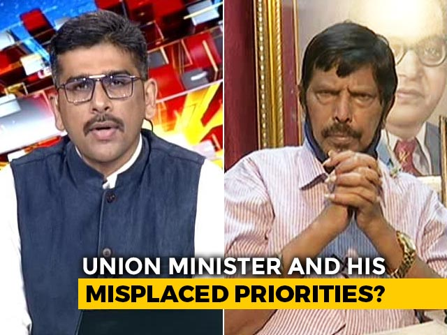 Video: Ramdas Athawale, Governor Meet Over Anurag Kashyap Case: Misplaced Priorities?