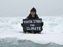Teen Climate Activist Stages Protest From Arctic Ice Cap