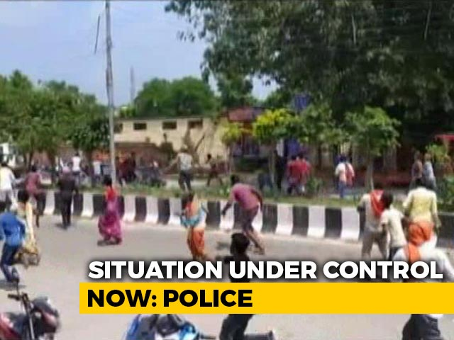 Video : Villagers, Cops Injured In Clash Over Alleged Custodial Torture In UP