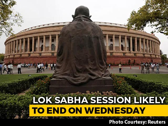 Video : Lok Sabha Session Likely To End On Wednesday As Covid-19 Cases Rise