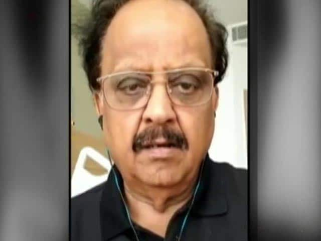 Video : Singer S P Balasubrahmanyam On Maximum Life Support, Says Hospital