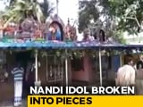Video : Idol Desecrated In Andhra Pradesh Temple; Attempted Theft, Say Police