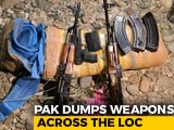 Video : Pak Flies Drones Across LoC At Night, Drops AK-47s For Terrorists: J&K Police
