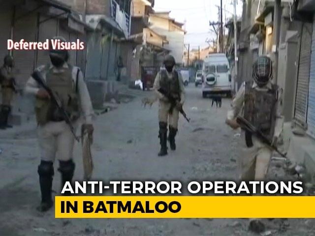 Video : Woman Killed, 2 Soldiers Injured In Anti-Terror Operation In J&K