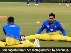 CSK vs MI: MS Dhoni Gears Up For IPL 2020 Opener In New Training Video. Watch
