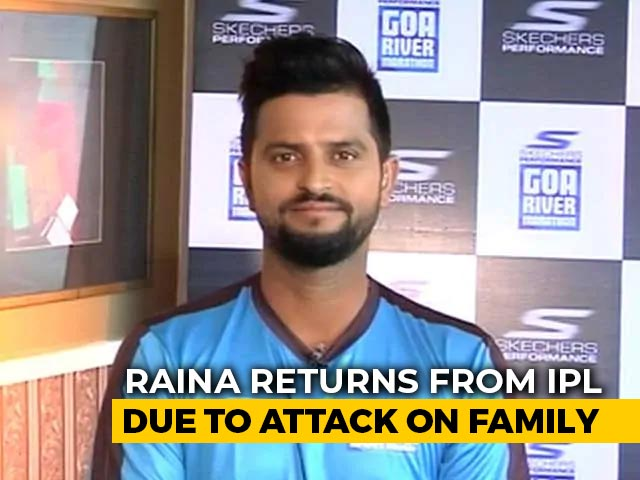 Video : 'Don't Spare Them': Suresh Raina To Amarinder Singh Over Attack On Family