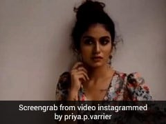 प्रिया प्रकाश वारियर ने कराया Photoshoot, दिखाया ऐसा अंदाज Video हुआ वायरल