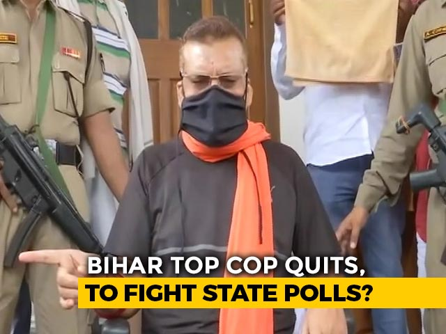 "Video : ""Retirement Not Linked To Sushant Case"": Ex Bihar Top Cop Amid Poll Buzz"