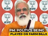 "Video : ""Reach Out To Farmers, Bust Propaganda"": PM To BJP Workers On Farm Bills"