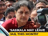 Video : VK Sasikala May Exit Jail On January 27; Could Be This Month, Says Lawyer